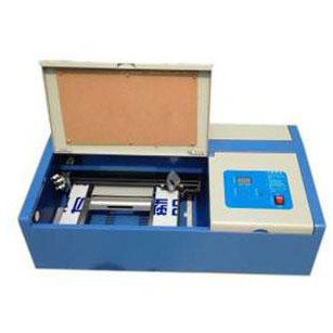 ES-40B Mini Desktop Laser Engraving Stamp Machine