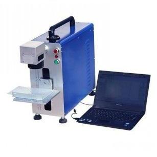 20W Portable Fiber Laser Metal Marking Machine