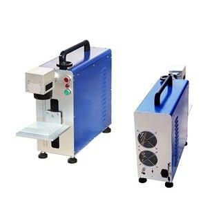 20W 30W 50W Portable Fiber Laser Marking Machine