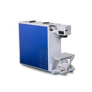Metal Plastic Stainless Steel Portable Fiber Laser Marking Machine