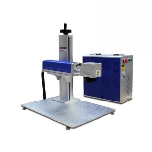 Seperated Portable Fiber Laser Marking Machine
