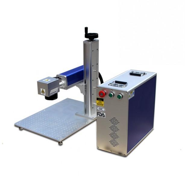 Seperated Portable Fiber Laser Marking Machine