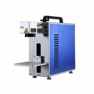 20W 30W 50W Portable Fiber Laser Marking Machine